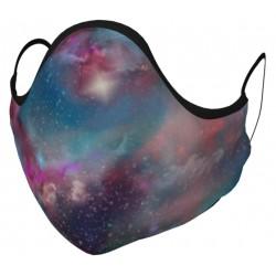 Rainbow Galaxy Space Face...
